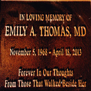 Dr. Emily A. Thomas MD Memorial Award